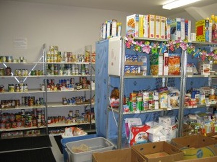 Mission KLS Food Pantry KCPC
